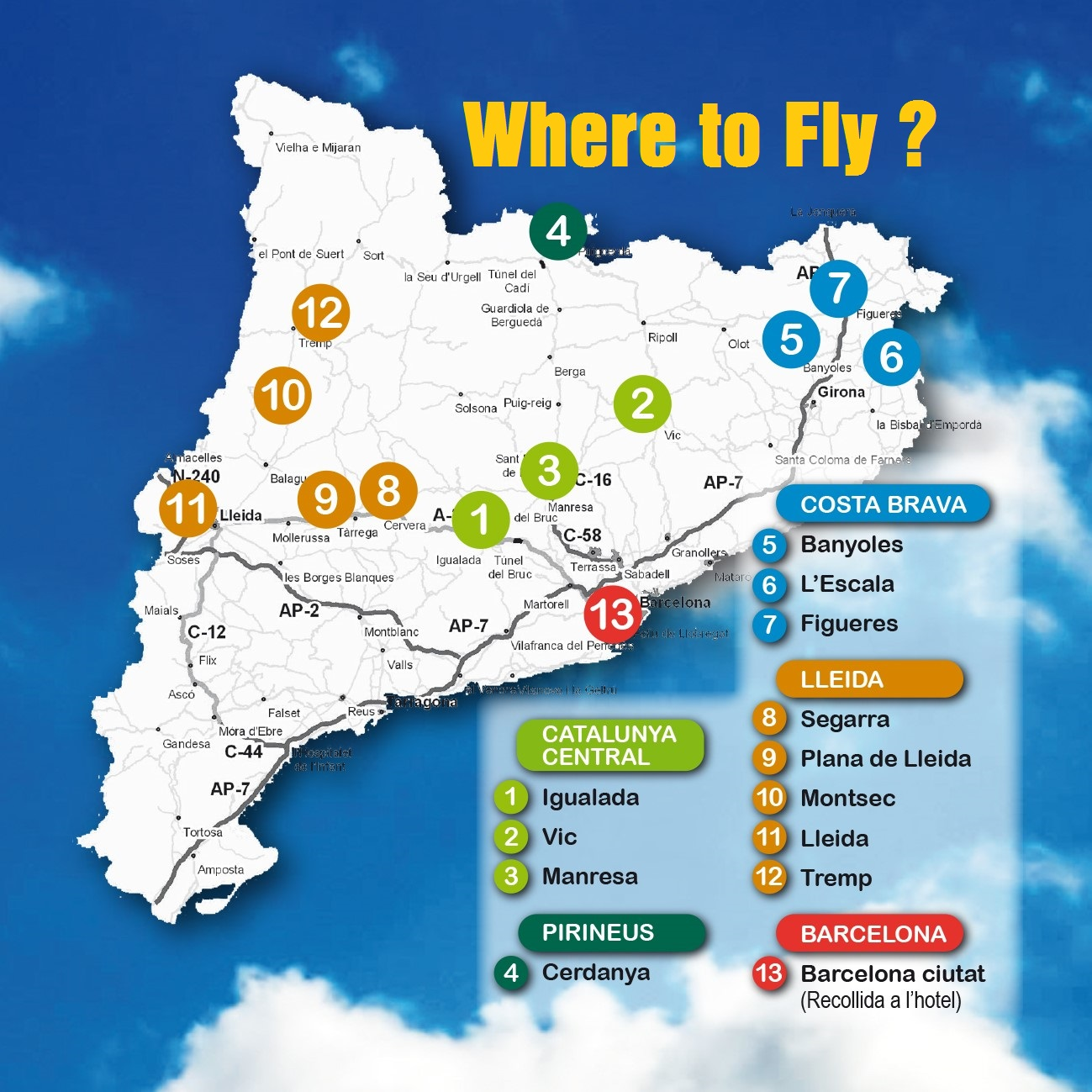 where to fly