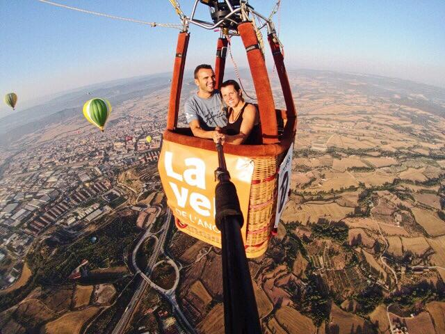 private hot air balloon